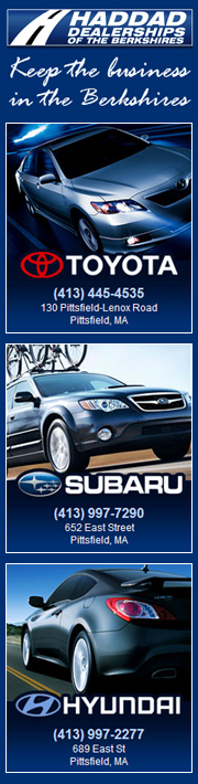 Haddad Dealerships, Haddad Toyota, Haddad Subaru, Haddad Hyundai, Berkshire Car Company, Pittsfield, MA Berkshire County